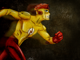 .Wally West. by xMashykax