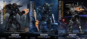 MassEffect/PacificRim Mashup Jaegers by rs2studios