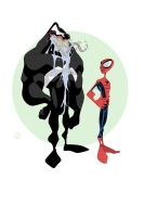 Vennie And Spidey by ShaunWard