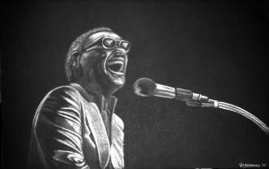 Ray Charles by cokeglass