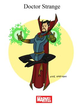 Mighty Marvel Month of March - Doctor Strange by tyrannus