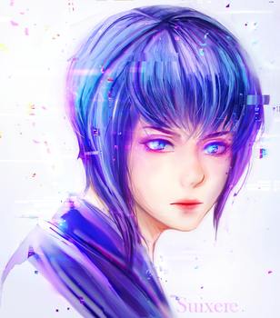 Ghost in the Shell by Suixere