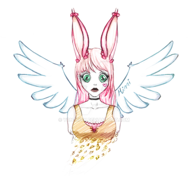 Angelic Minni Bunny by Yon-Miyu