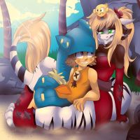 .:Suzy and Yugo:. by Fur-What-Loo