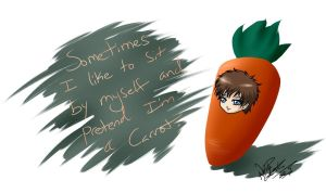 I love Carrots by YumeSamasLover