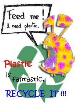 Plastic is fantastic by Sandro98ch