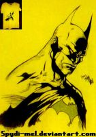 ED benes batman....on a t-shirt!!! by Spydi-mel