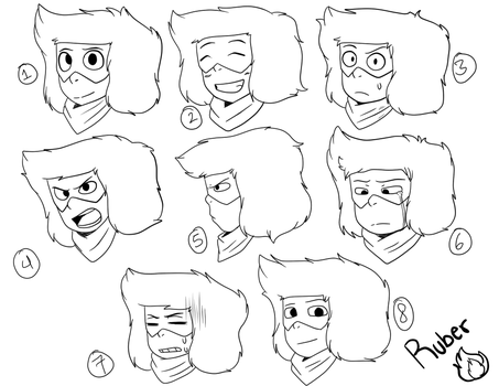 Expressions by RubyArt15