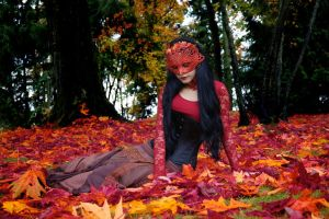 Lady Autumn by Mahafsoun