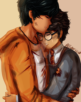 Percy / Harry by allarica