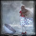 The rain washs it all away... by SeaLady15