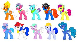 MLP FIM Big Brother Bronies by kaoshoneybun