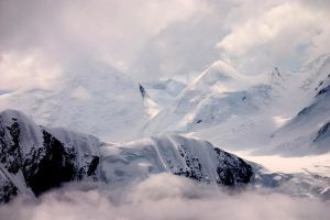 Alaskan range, alaska by iamintheprocess