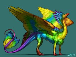 Prismatic Salus by KaiserFlames