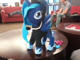 Gamer Luna! Now with Super Hoodie Action! by MistrunnerSilverwisp