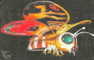 Fairy Mothra by pink12301