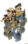 Avatar Modern Warfare: Sokka and Suki by MoeAlmighty
