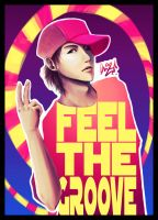 FEEL THE GROOVE by cherlye