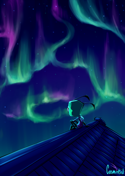 Northern Lights by cosmixed