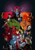 Marvel Origins by SLewis18