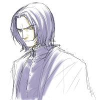 Rough: Snape 3 by yukipon