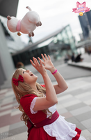 Bee and Puppycat with Global Cosplay 5 by Samii-Doll