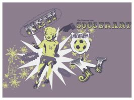 Soccer Art by isca