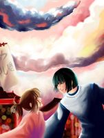 Spirited Away by Hanacchi7