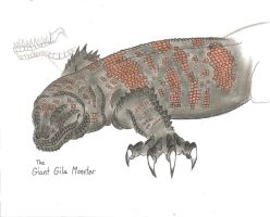 Giant Gila Monster by MonsterKingOfKarmen