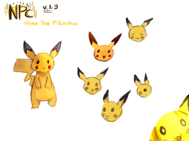 Character Reference: Hime the Pikachu v.1.3 by Pokefuturemarsh