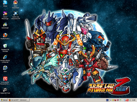 Super Robot Wars Wall Fan-Made by DJWill