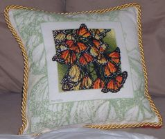 """Wings"" pillow by Pegasi1978"
