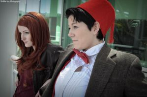 Doctor Who - Raggedy Man and The Girl Who Waited by seethroughcrew