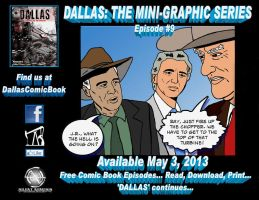 DALLAS Comic Book Ad Episode  #9 by RoyPrince