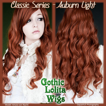 Classic Series - Auburn Light by GothicLolitaWigs