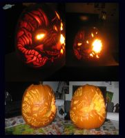 WoW Pumpkin Carving by The-Bluetip