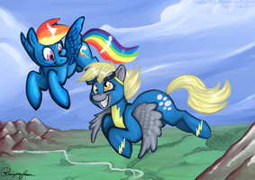 Wind Beneath Our Wings by reaperfox