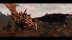 In Flight - Alduin by soluti0ni9e