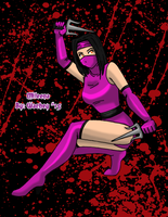 October Day 2 - Mileena by wachey