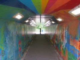 Tunnel of Colour by izzybizy