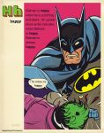 super dictionary: 'happy' batman by m7781