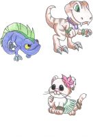 Neopets petpets 2 by Dragonkitty13