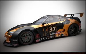 GT Toyota supra concept 1 by Sphinx1