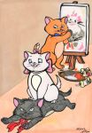 Marie, Berlioz and Toulouse by TwinkelMalfidus