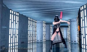 Darth Vader Pinup 4 by Mistress-Zelda
