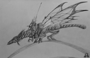 Faery Dragon - Correct Version by TheMythologian