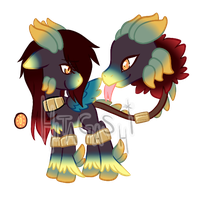 ::ADOPT.UNCOMMON FEATHERED TRIMEIL:CLOSED:: by HitaKai