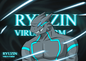 Ryuzin virus form anime style by DarkDragon563
