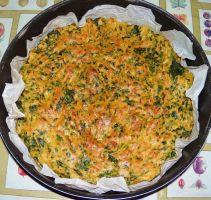Baked Spinach omelette by bob60t