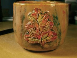 AUTUMN OAKLEAF MUG by CorazondeDios